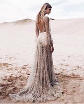 dress,gold,sequins,pretty,bohemian,beautiful,formal dress,gold dress
