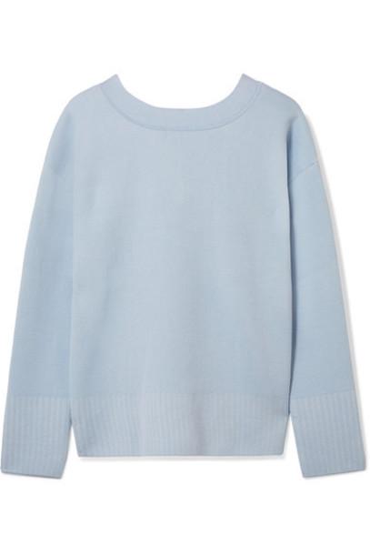 3.1 Phillip Lim sweater blue silk sky blue