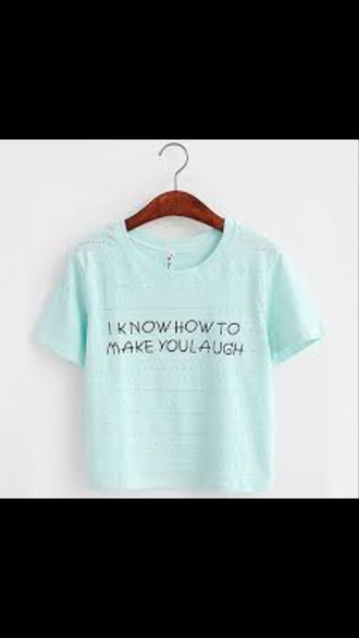 shirt blue blue shirt quote on it