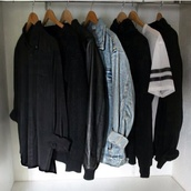 blouse,black,shirt,jacket,denim jacket,style,denim,fashion,t-shirt,black sleefs,sporty,t-shirt dress,t shirt sweatshirt,shoes,top,sweater,jeans,coat,manteaux,loose,back denim,grunge,flannel,converse,aestethic,white,black and white,nike air force 1,leather jacket,leather,black leather jacket,black and white converse,white and red converse,vans