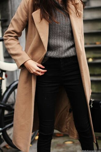 coat jacket winter outfits wool camel camel coat long coat