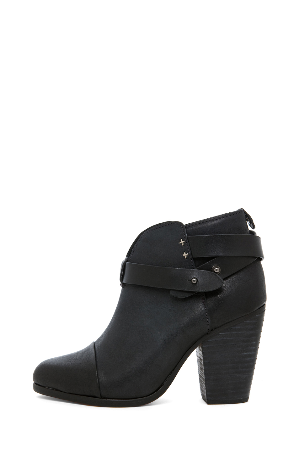 rag & bone|Harrow Leather Boot in Black