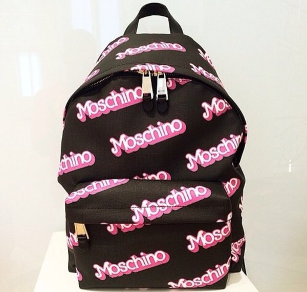 bag barbie moschino backbag cyber ghetto soft ghetto