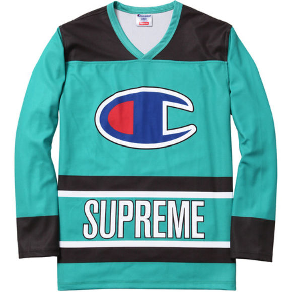 supreme shirt jersey hockey