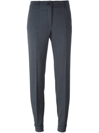 women spandex wool grey pants