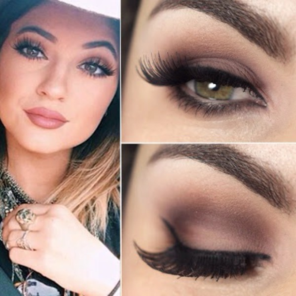make-up kylie jenner hair/makeup inspo