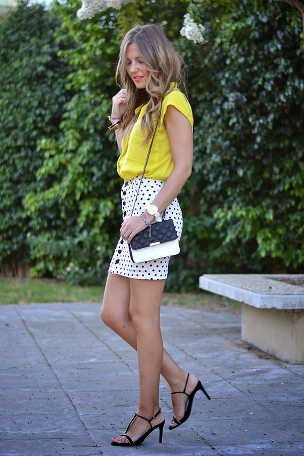 mi aventura con la moda skirt bag shoes jewels make-up