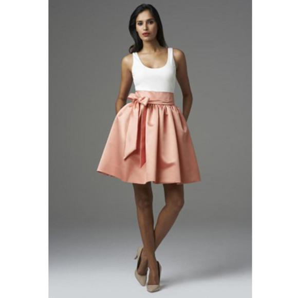 bows a line prom dress dress prom dress pastel pink
