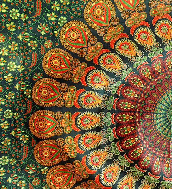 Boho Throw Blankets Inspiration Home Accessory Wall Decor Mandala Wall Hanging Hippie Bohemian