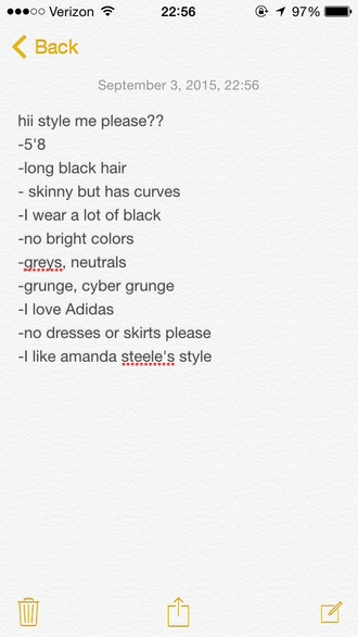 sweater grunge black cyber grunge wishlist adidas tumblr urban outfitters style me