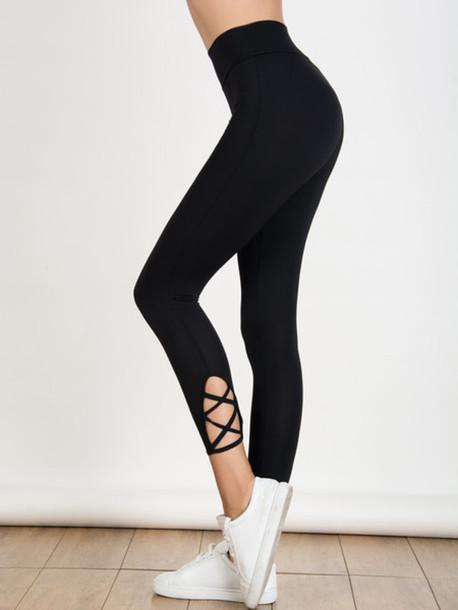 b8cf3e8b13571 leggings mynystyle casual hipster trendy swag streetwear gym white sneakers  sportswear black girly girl girly wishlist