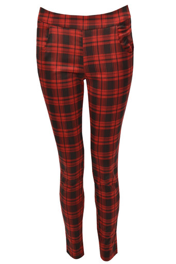 Ravel Tartan Trouser - Pop Couture