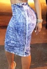 Denim Skirt  | Raggedy Endz