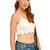 Marlena Crochet Crop Cami Top in White at Fashion Union