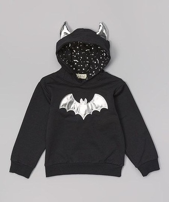 sweater black batman coat goth bat halloween creepy fall outfits pastel goth pastel winter coat kawaii kawaii grunge creepy cute creepy kawaii fall sweater fall coat long sleeves hoodie