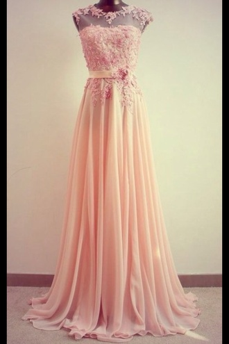 dress prom long prom dress pastel pastel pink pink pastel dresses pink prom dress cute girly fashion application summer dress pink floral kimono