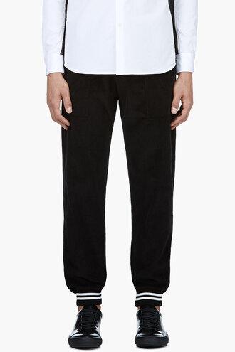 corduroy pants menswear clothes black lounge lounge pants