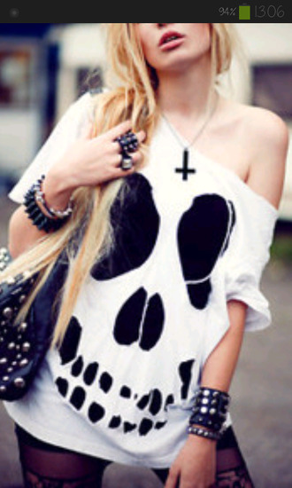 punk hipster punk rock perfect cool sassy funny skeleton skull halloween