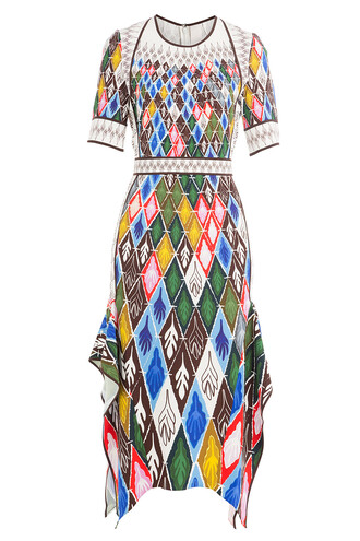 dress midi dress midi multicolor