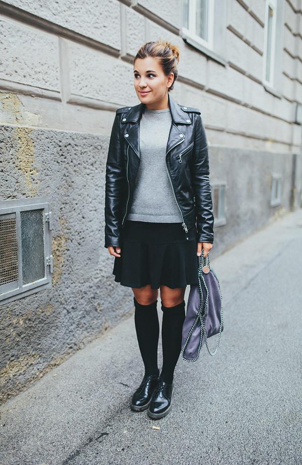 dariadaria blogger shoes knee high socks