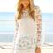 Sabo skirt  runaway tunic - white - $58.00