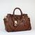 distinctive appeal Prada Chocolate Brown Handbag Leather YZ8721 in high quality