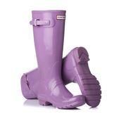 shoes,lavender,hunter rain boots