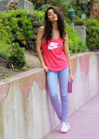sweat the style tank top top jeans shoes
