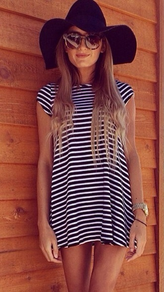 dress t- shirt dress shirt dress stripey t-shirt
