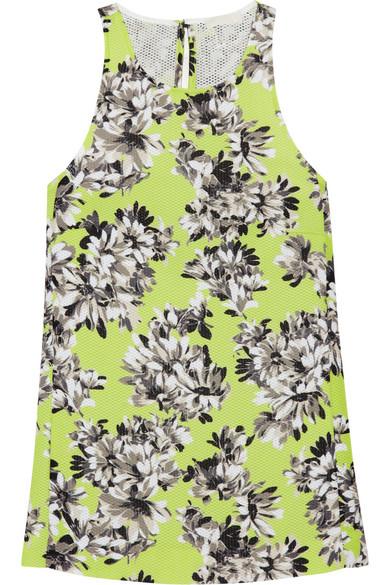 J.Crew | Collection floral-print piqué top | NET-A-PORTER.COM