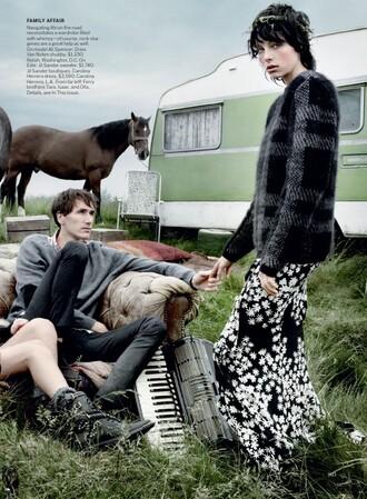 skirt vogue magazine lookbook editorial