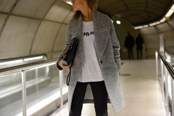 the petticoat coat bag shoes t-shirt