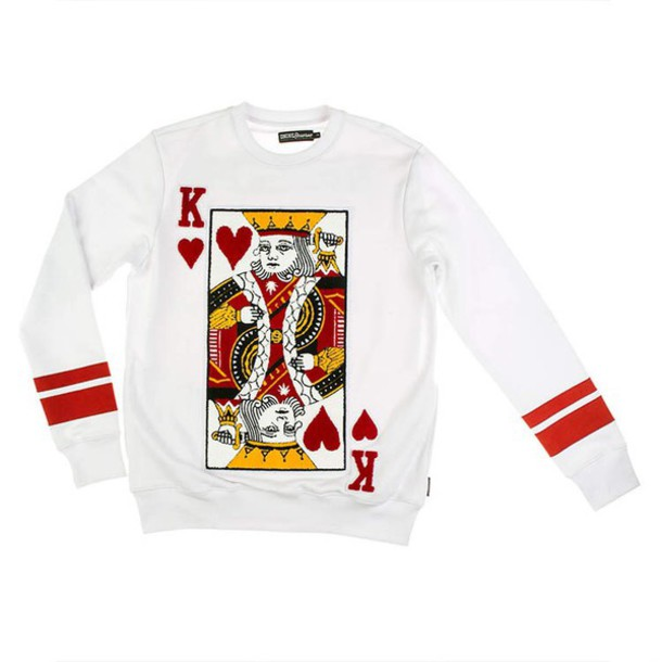 Sweater King Of Hearts Wheretoget