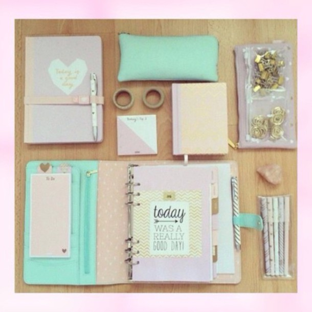 Home Accessory Diary Accessories Accessory Diy Tape Pencils Girly Back To School School Supplies Pastel
