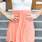 Sabo skirt  coral tea dress - presale [presale] - $68.00