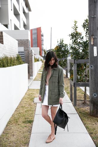 skirt mini skirt denim skirt parka oxfords sweater backpack blogger blogger style