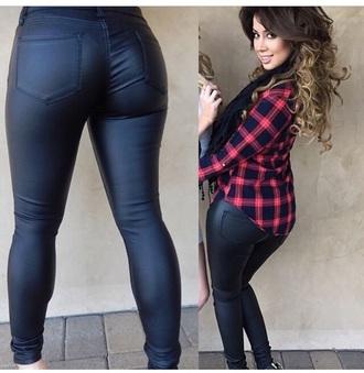 pants jeans black jeans shirt black pants