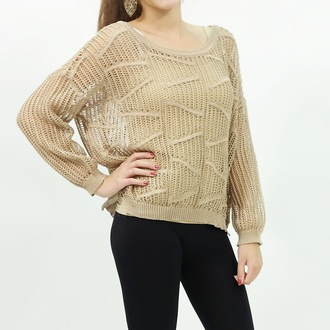 knit outfit fashionista fashionable tops girly trendy knitted sweater mesh fall outfits