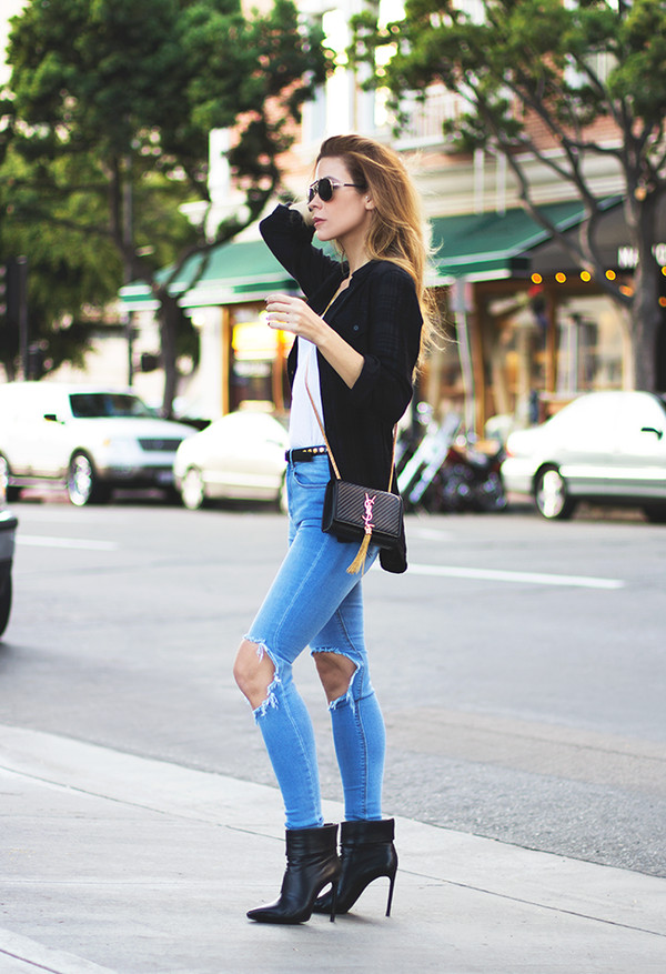 sunglasses t-shirt bag tank top belt shoes
