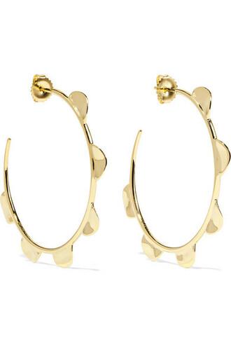 earings gold jewels