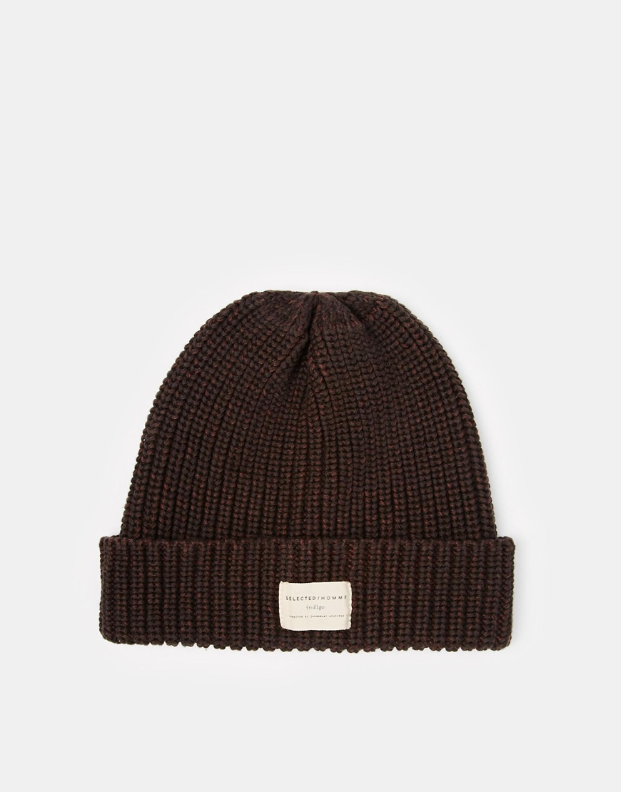 Selected ground beanie hat at asos.com