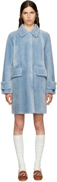 Miu Miu coat blue