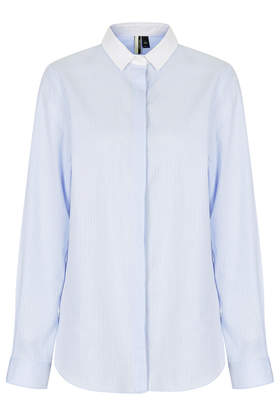 Premium Pinstripe Shirt - Shirts - Tops - Clothing- Topshop USA