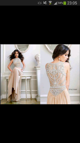 details dress beautiful long dress