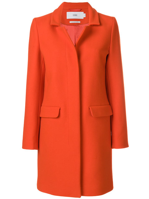 Closed Concealed Buttoned Coat - Farfetch