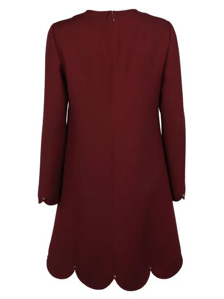 Valentino dress shift dress scalloped