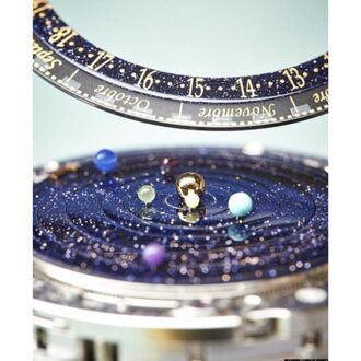 jewels watch galaxy print jewelry hipster swag science