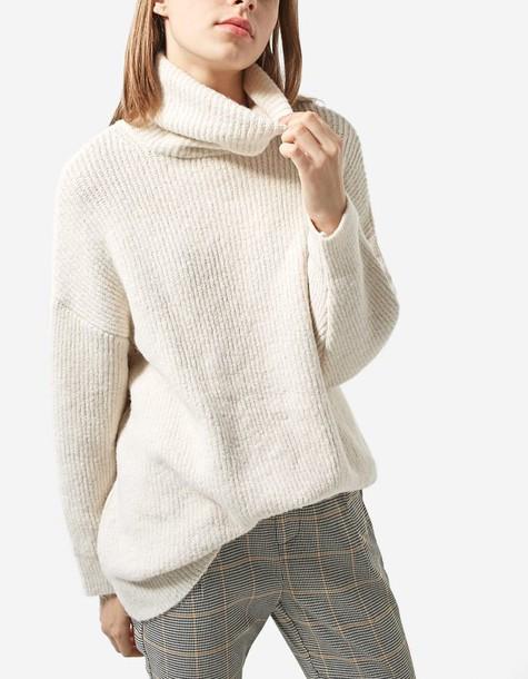 Stradivarius sweater oversized knit