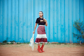 bighairloudmouth,blogger,skirt,top,shoes,bag,midi skirt,crochet skirt,red boots,boots,t-shirt,thrasher,black t-shirt,spring outfits