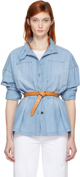 Isabel Marant etoile shirt blue top